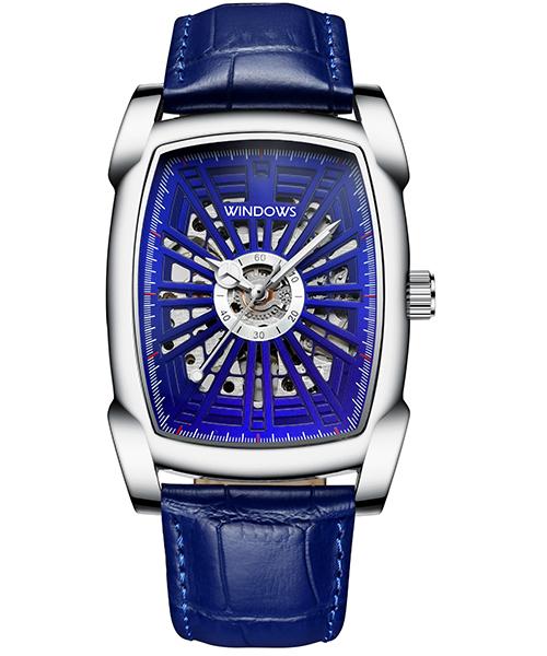 商务机械手表厂家方形复古男士手表款式供应