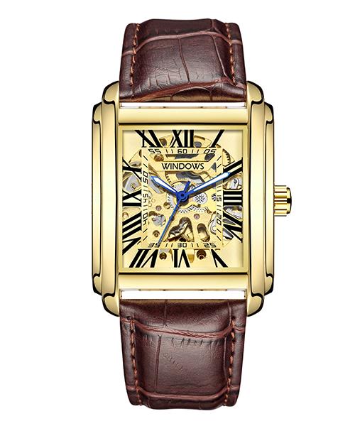 典雅风格商务机械手表厂家款式供应